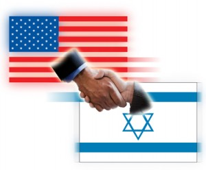 US-Israel-Hand-shake-flags